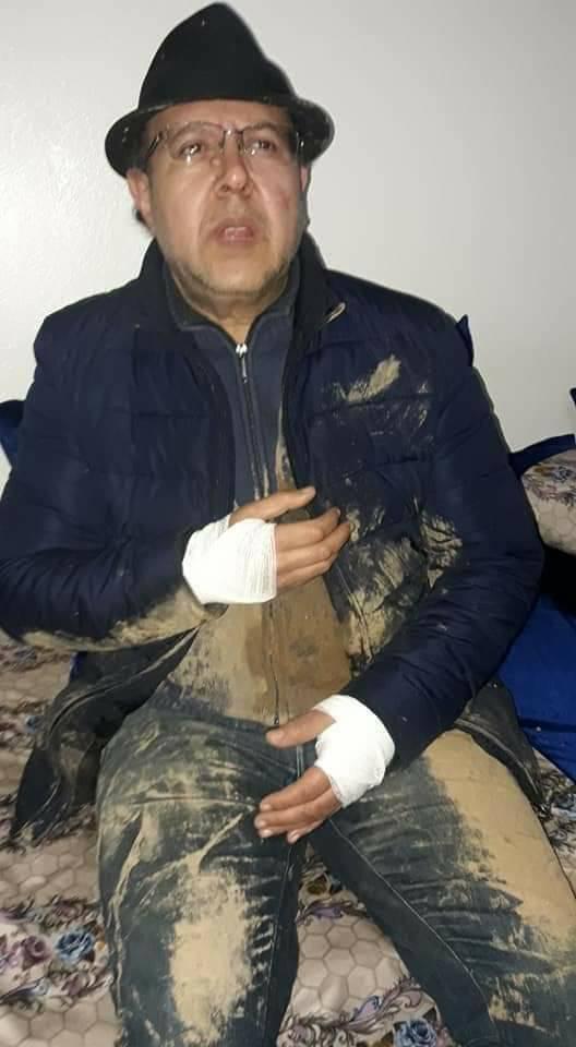 تعرض الإعلامي محمد آمين الناظيفي إلى الاعتداء الجسدي بالسلاح الابيض