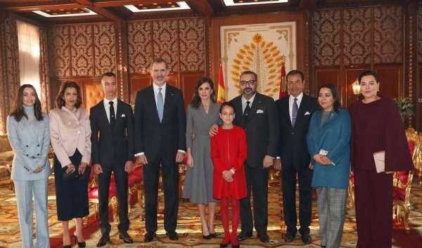 عاهل إسبانيا يغادر المغرب