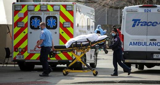 إصابة أزيد من 60 ألفا بكورونا ووفاة 1195 شخصا في يوم واحد بأمريكا