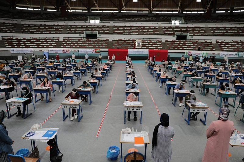 أكاديمية الدار البيضاء.. ضبط 138 غشاشاً، و6 مصابين بكورونا في امتحانات البكالوريا