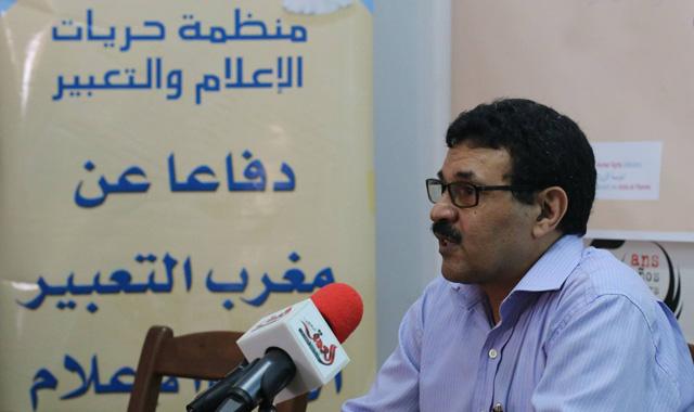 بيان: قضية عمر الراضي عنوان لاستهداف حرية الاعلام