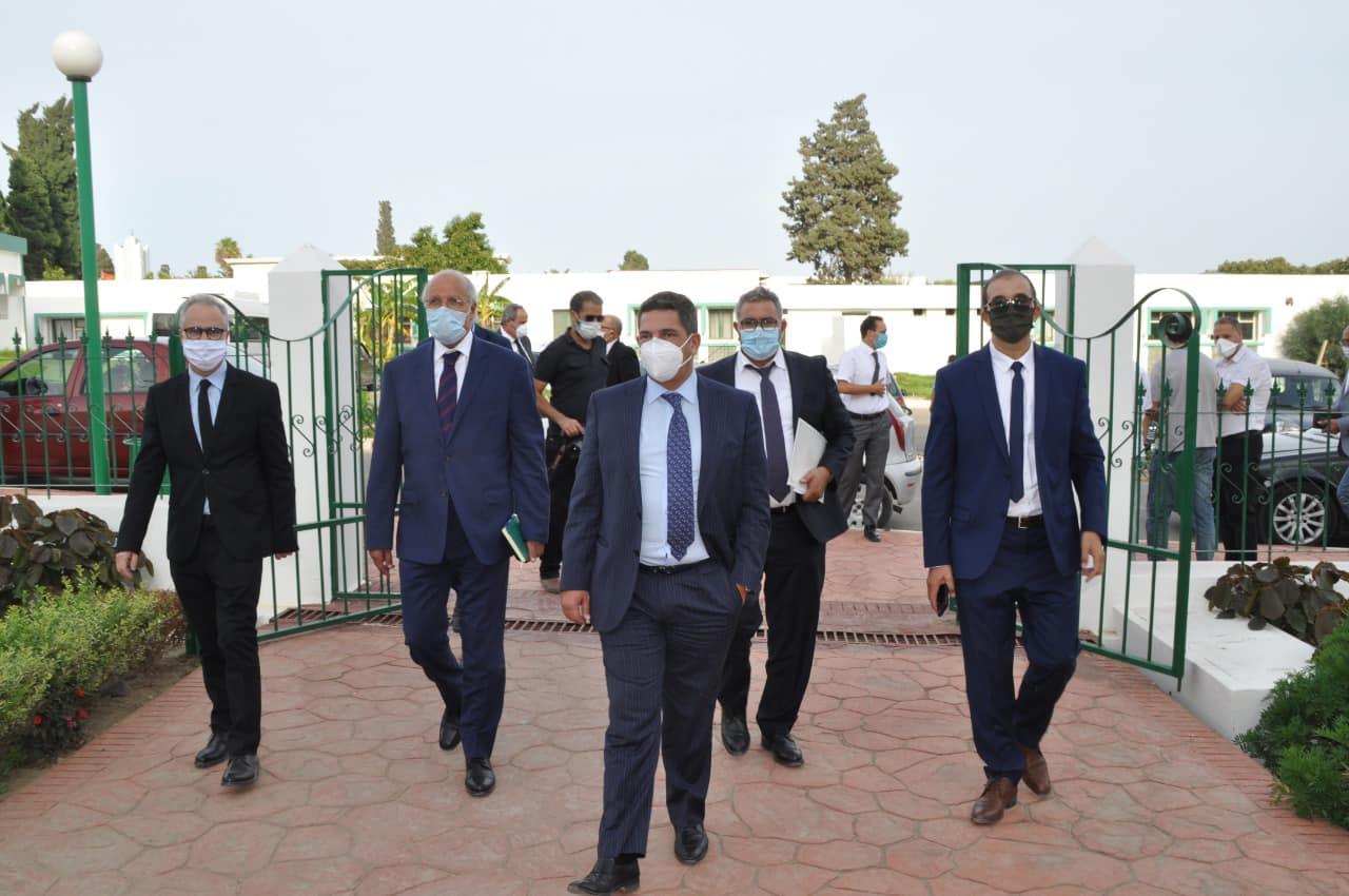 بالفيديو و الصور: تصريحات الوزير أمزازي و المرحوم الرامي و بكاء الرئيس الجديد لجامعة عبد المالك السعدي