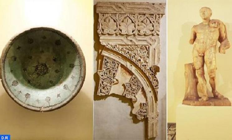 متحف التاريخ والحضارات يحتضن معرض «المغرب عبر العصور» 450 قطعة أثرية تشهد على تاريخ المغرب المتجذر