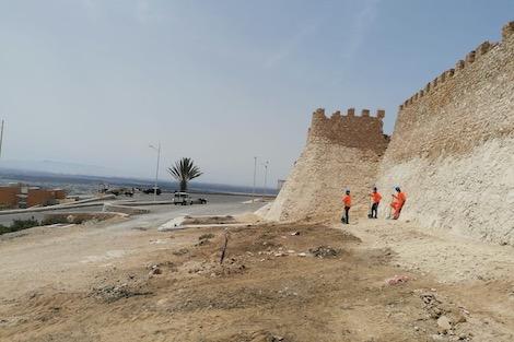 """ترميم قصبة أكادير أوفلا يزج بمنشطين سياحيين في """"أتون البطالة"""