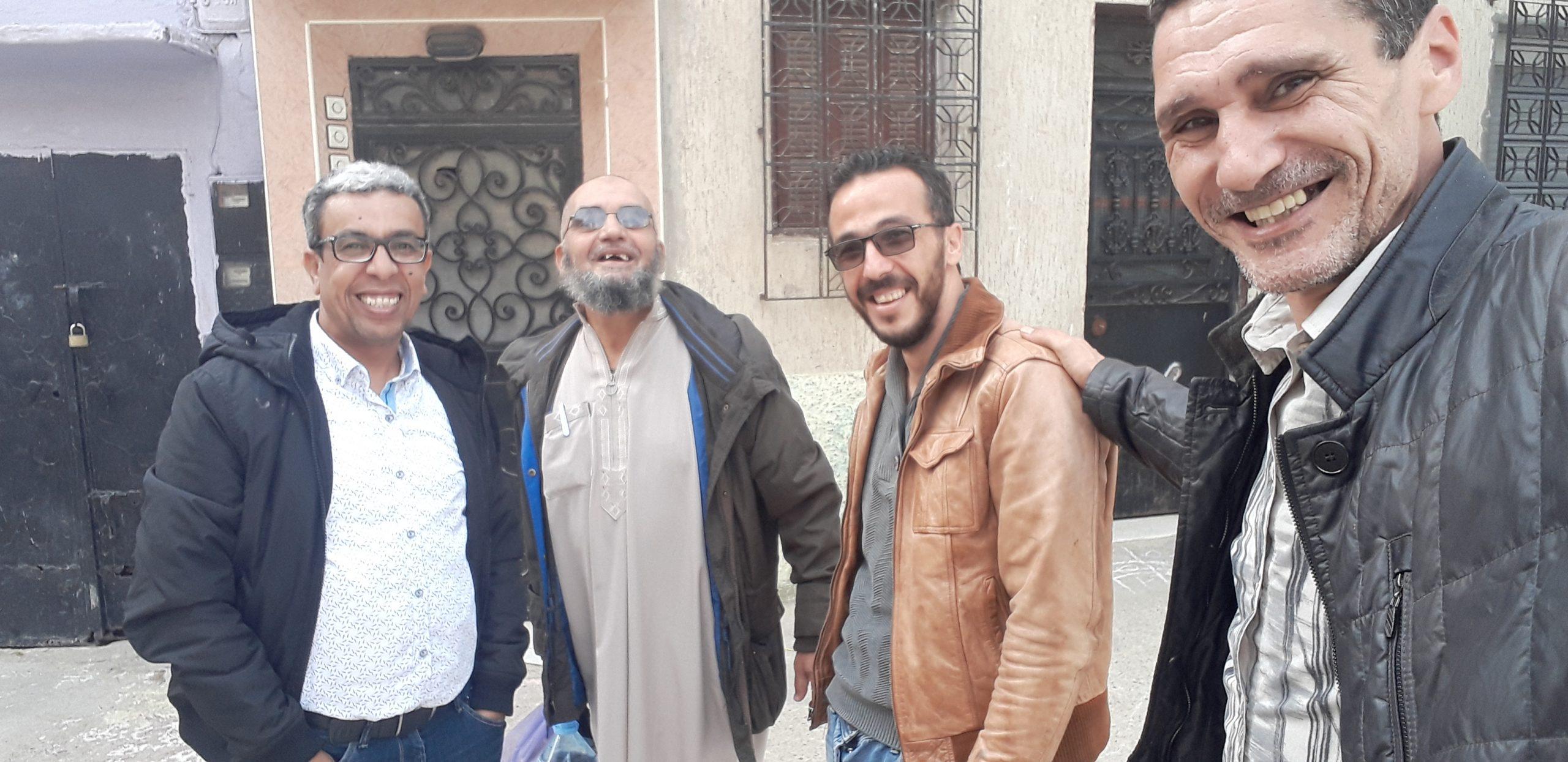 فيديو حميد المهداوي في تطوان يستمع لأجمل شهادة في حقه
