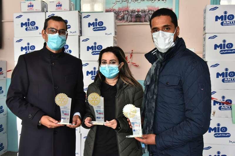 """""""باسف"""" و""""أما ديتيرجون"""" تدعمان جهود المغرب في مواجهة تفشي الفيروس"""